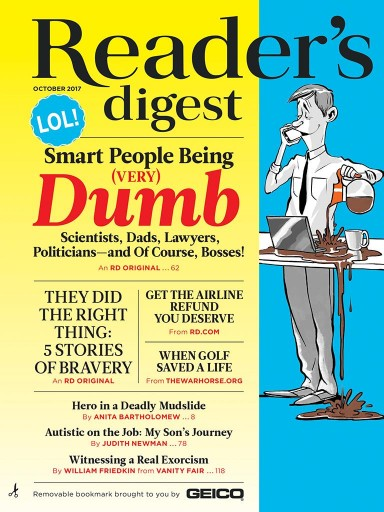 Media Scan for Reader's Digest Magazine