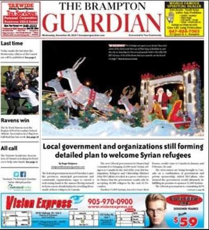 Media Scan for Brampton Guardian