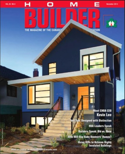 Media Scan for Home Builder Magazine
