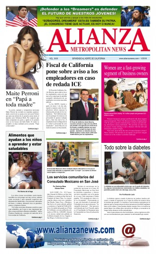 Media Scan for Alianza Metropolitan News - San Jose