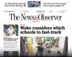 Media Scan for Raleigh News & Observer