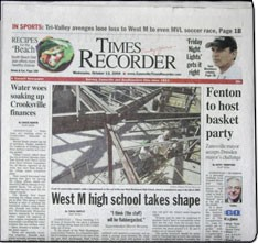 Media Scan for Zanesville Times Recorder
