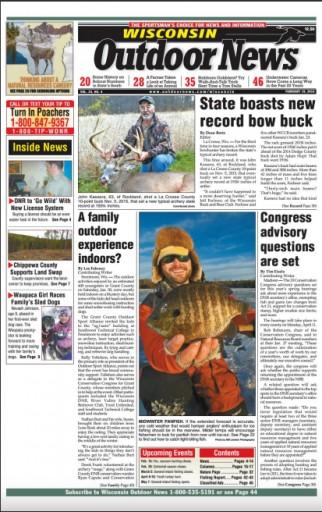 Media Scan for Wisconsin Outdoor News