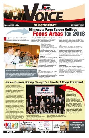 Media Scan for Minnesota Voice of Agriculture