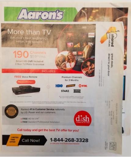 Media Scan for SMV Wrap Aaron's Partnership
