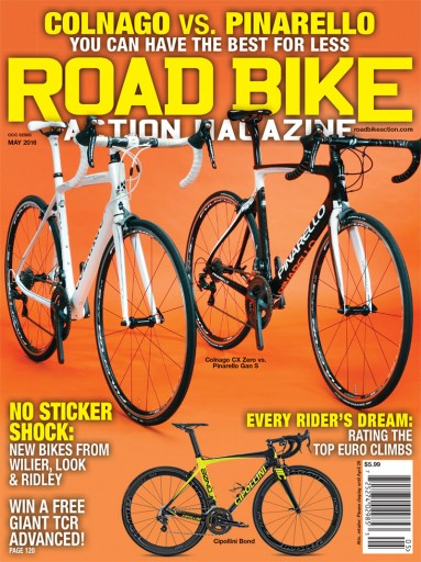 Media Scan for Road Bike Action
