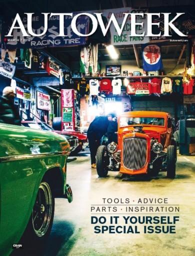 Media Scan for AutoWeek Magazine