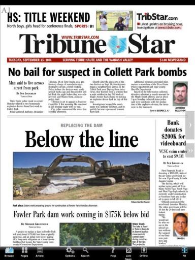 Media Scan for Terre Haute Tribune-Star