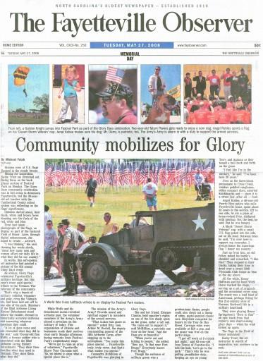 Media Scan for Fayetteville Observer Times