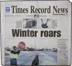 Media Scan for Wichita Falls Times Record News