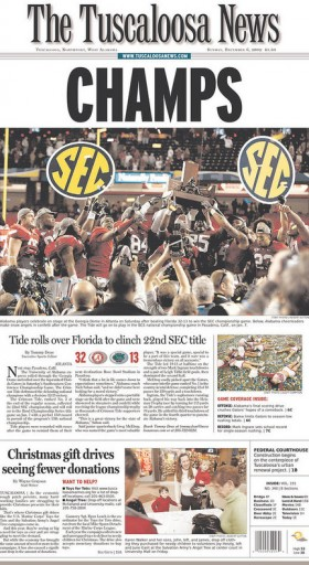 Media Scan for Tuscaloosa News