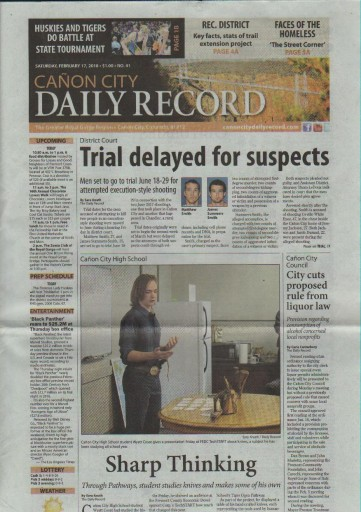 Media Scan for Canon City Daily Record