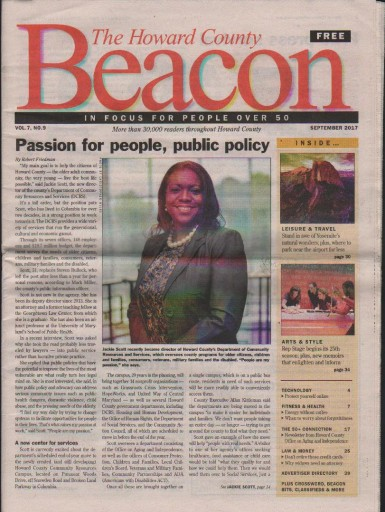 Media Scan for Howard County Senior Beacon