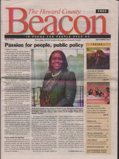 Media Scan for Howard County Senior Beacon