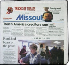 Media Scan for Missoula Missoulian