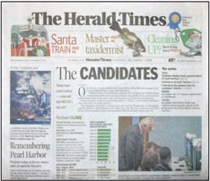 Media Scan for Bloomington - Bedford Herald Times