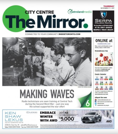 Media Scan for City Centre Mirror
