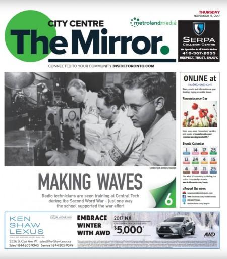 Media Scan for City Centre Mirror