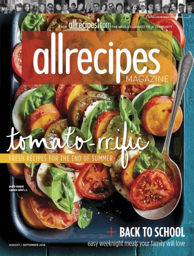 Media Scan for allrecipes magazine