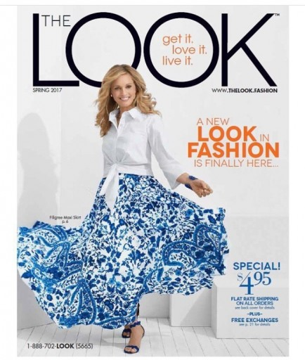 Media Scan for The Look Catalog Buyers Blow In